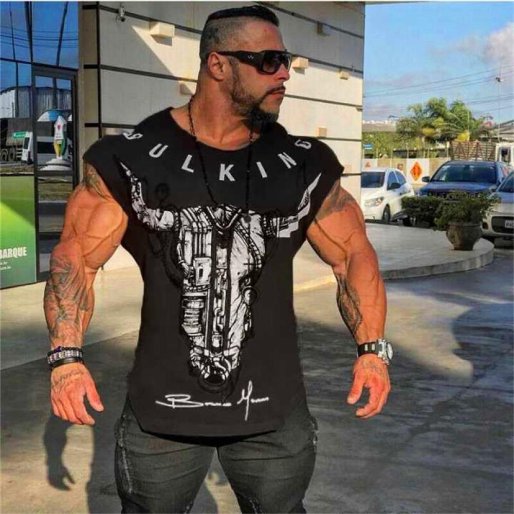 #design #likeforlike T-shirt muscle fitness männer body top