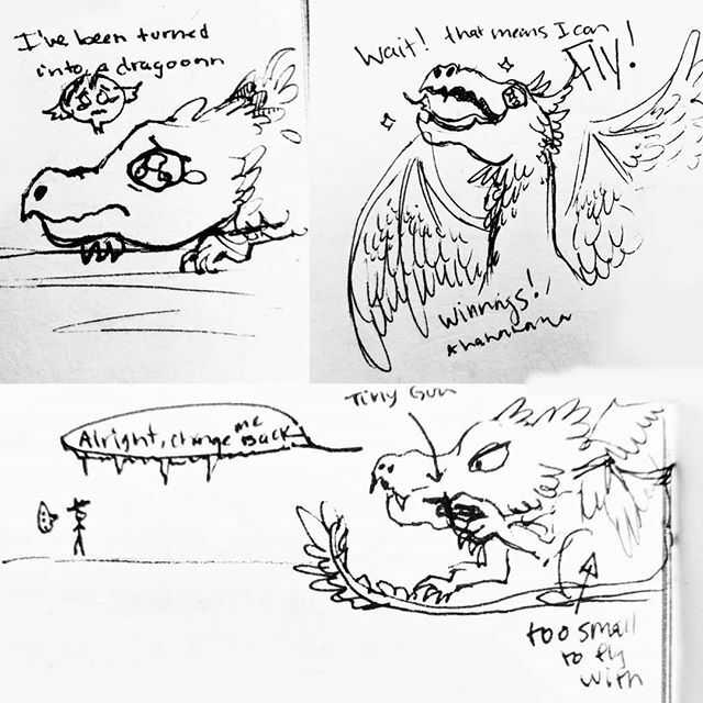 Scribble prompt: if Cordite was turned into a dragon  #art #artistfae #sketch #scribble #dragon #doodle