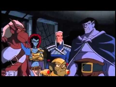 #gargoyles #KeepBingingGargoyles  Future Tense is one of the most jaw dropping episodes of any animated series, hell even live action for that matter.   Yeah, it was all Puck's illusion, but I think evil Lexington was something the show should have touched upon further. <br>http://pic.twitter.com/tc37X6P6n4