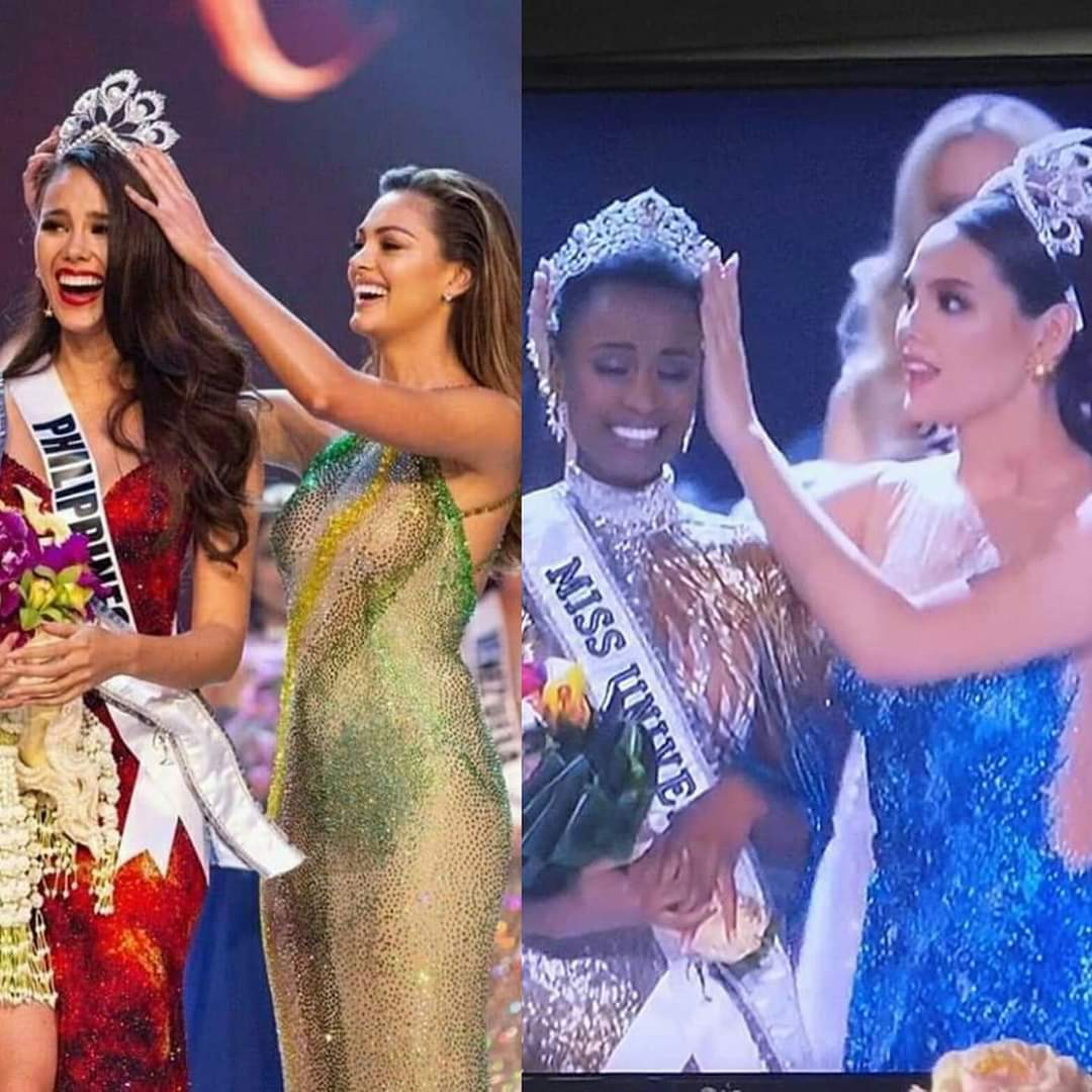 The back to back we did not see coming! South Africa to Philippines - 2018 Philippines to South Africa - 2019 #MissUniverse2019 CTTO