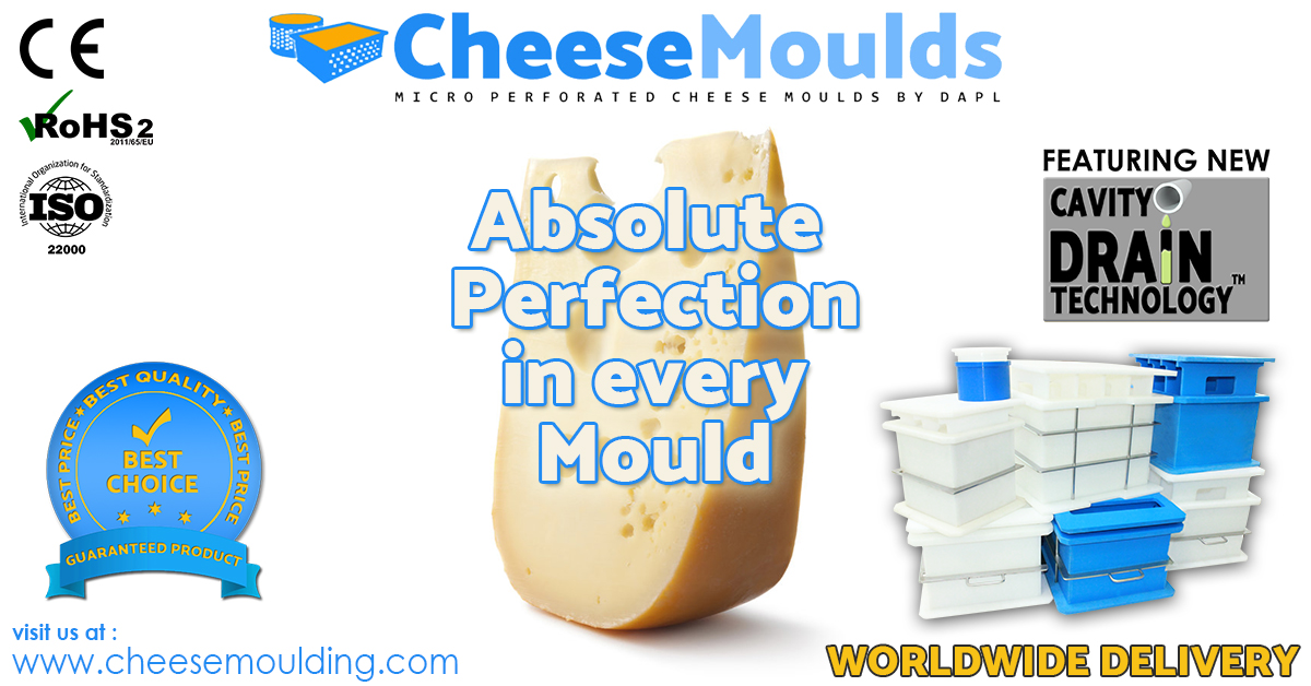 #cheese To make Good #cheese you need the #best #moulds now #Trending # our #cheese moulds that give you the best output and #maximum yield! #TrendingNow #dairy #dairyindustry