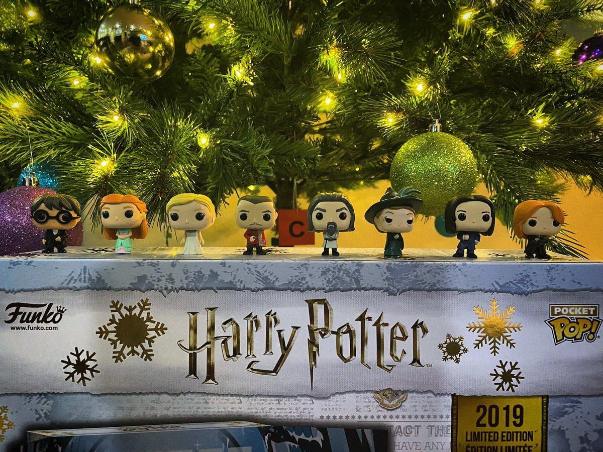 Through Day 8 of the #HarryPotter #AdventCalendar by @OriginalFunko.