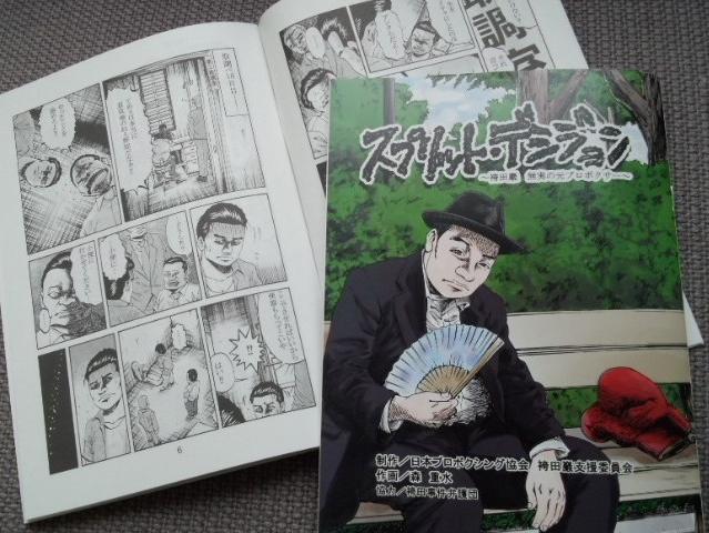 ネットで配信中の袴田事件紹介マンガ「スプリット・デシジョン~袴田巖 無実の元プロボクサー~」全6話が冊子化されました(英語版もあり)。