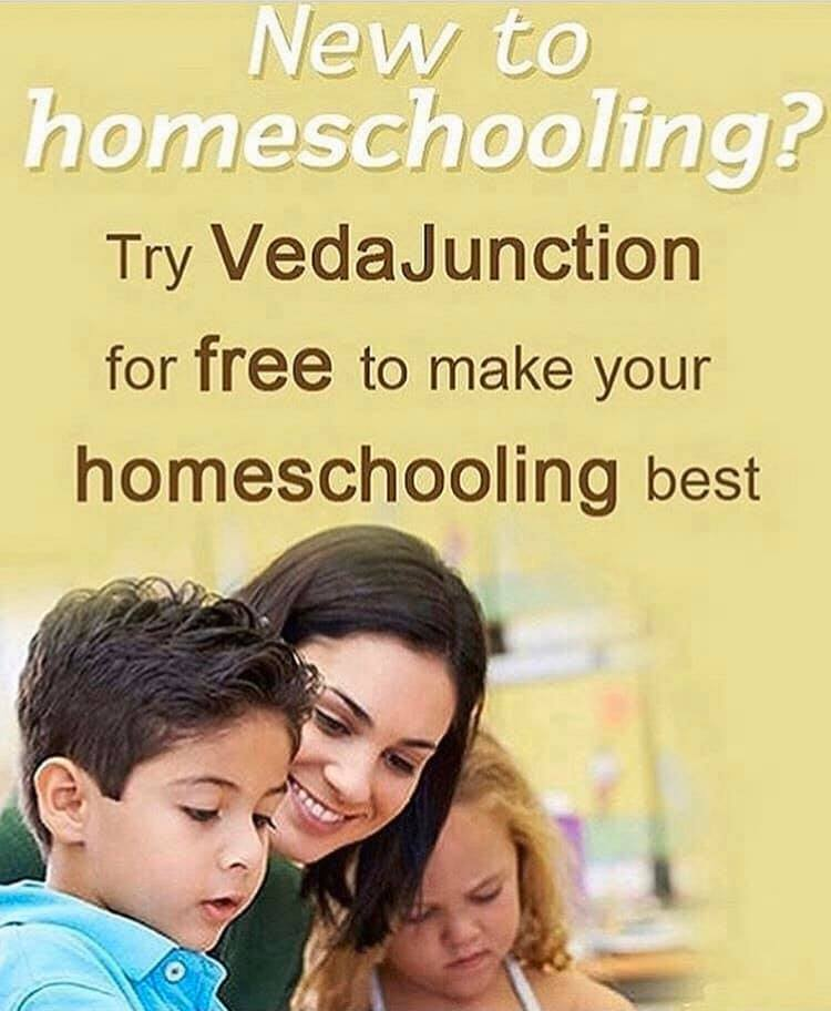 New to #homeschooling? No need to worry VedaJunction is here to support you. Try VedaJunction for free and make your homeschooling #flexible.#homeschool #wahm #sahm #personalizedlearning #machinelearning #homeschoolmom #thehomeschoolmom #parenting #homeschoollife #edtech