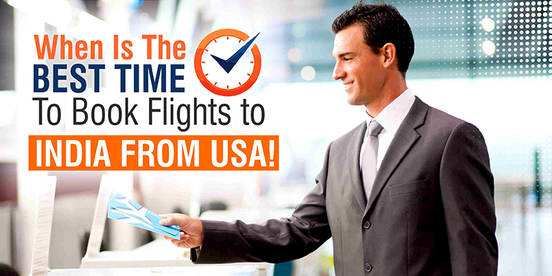 Which Is The Best #Time To #book #flights To #India From #USA   To find out the #Best Time to book flights from USA to India keep #some tricks in your mind. Make a confirmed plan and book a non-refundable flight #Ticket .