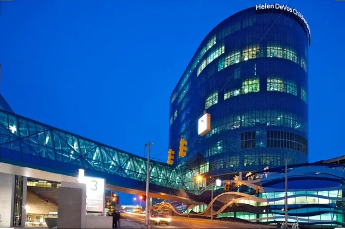 Champion Venue of the Day: Helen Devos Children's Hospital https://t.co/h2MBCbVMZB