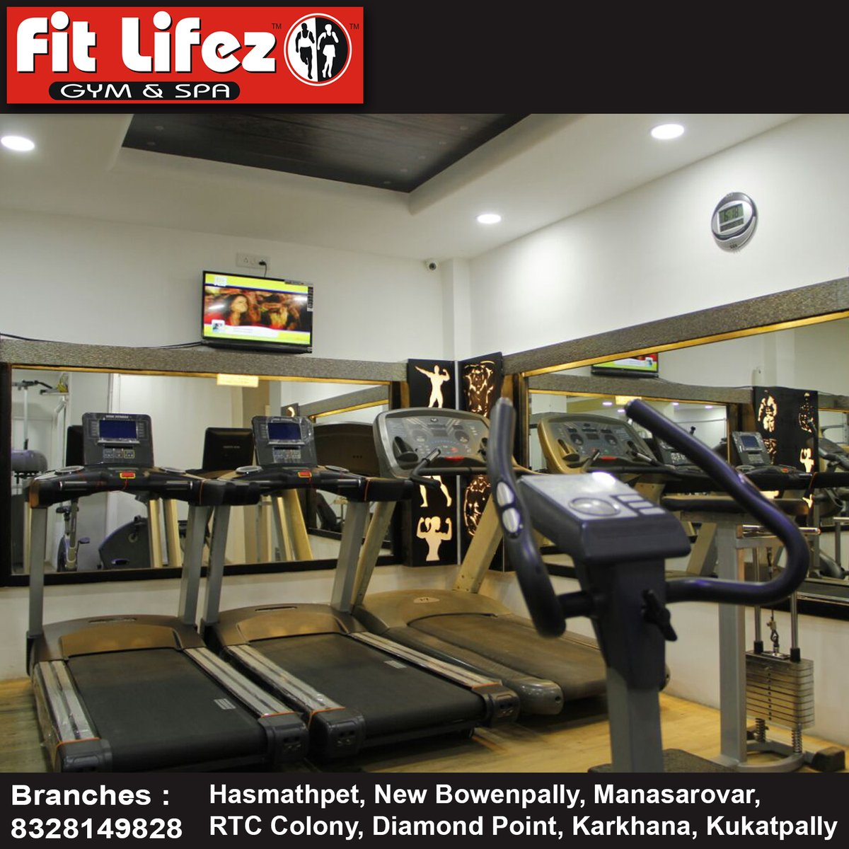 Join us for #fitness activities: Fitlifez Gym and Spa Call us for more details: 8328149828 #Fitlifez #Gym #Spa