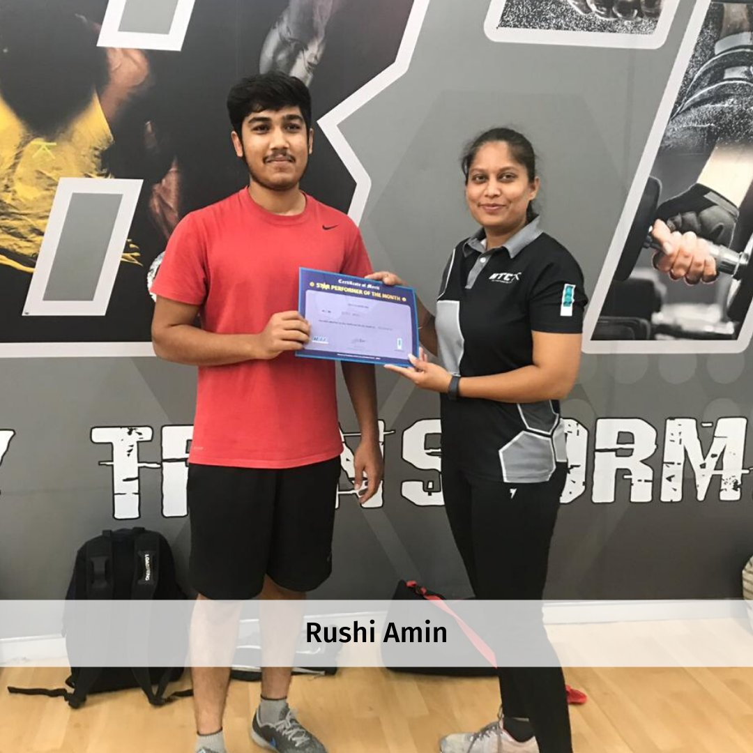 Congratulations to our star performers of the month! 🎉 Your dedication and enthusiasm have been inspiring. 💖  #EKA #EKAClub #BTC #GYM #Workout #FitIndia
