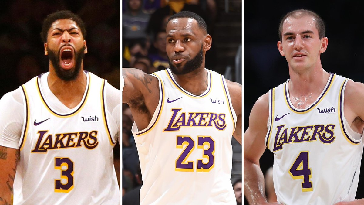 Nothing was stopping the Lakers' three-headed monster Sunday night:  Anthony Davis: 50 points LeBron James: 32 points, 13 assists Alex Caruso: 16 points
