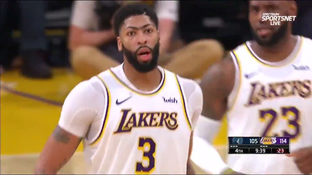 Anthony Davis dropped 50 points in just his 23rd game with the Lakers.  The third quickest in team history.