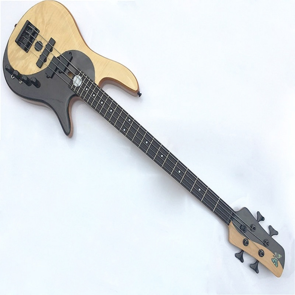 #cute #summer #likeforlike Maple with Rosewood 4 String Bass Guitar