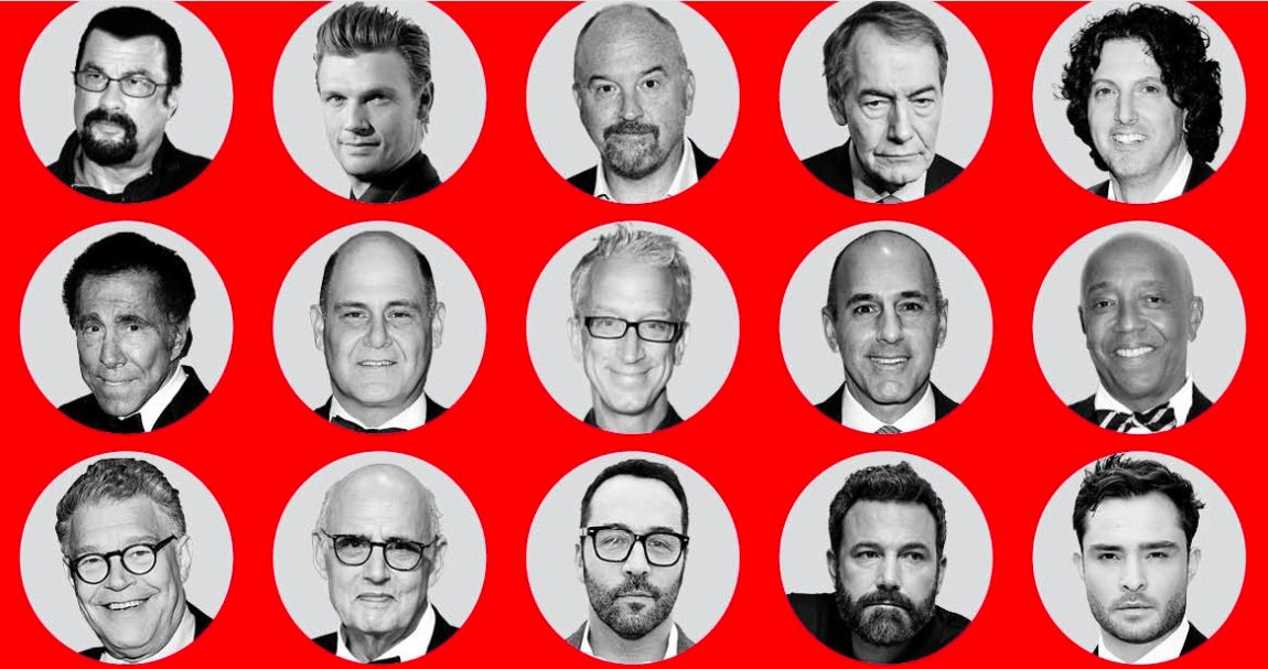 Out of all these powerful men accused of sexual assault/harassment in Hollywood, guess one Oprah chooses to focus her new documentary on? <br>http://pic.twitter.com/tJKEB3P23K