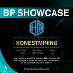 Image for the Tweet beginning: [BP Showcase: @honestmining]  Hi VEX Partners!  This