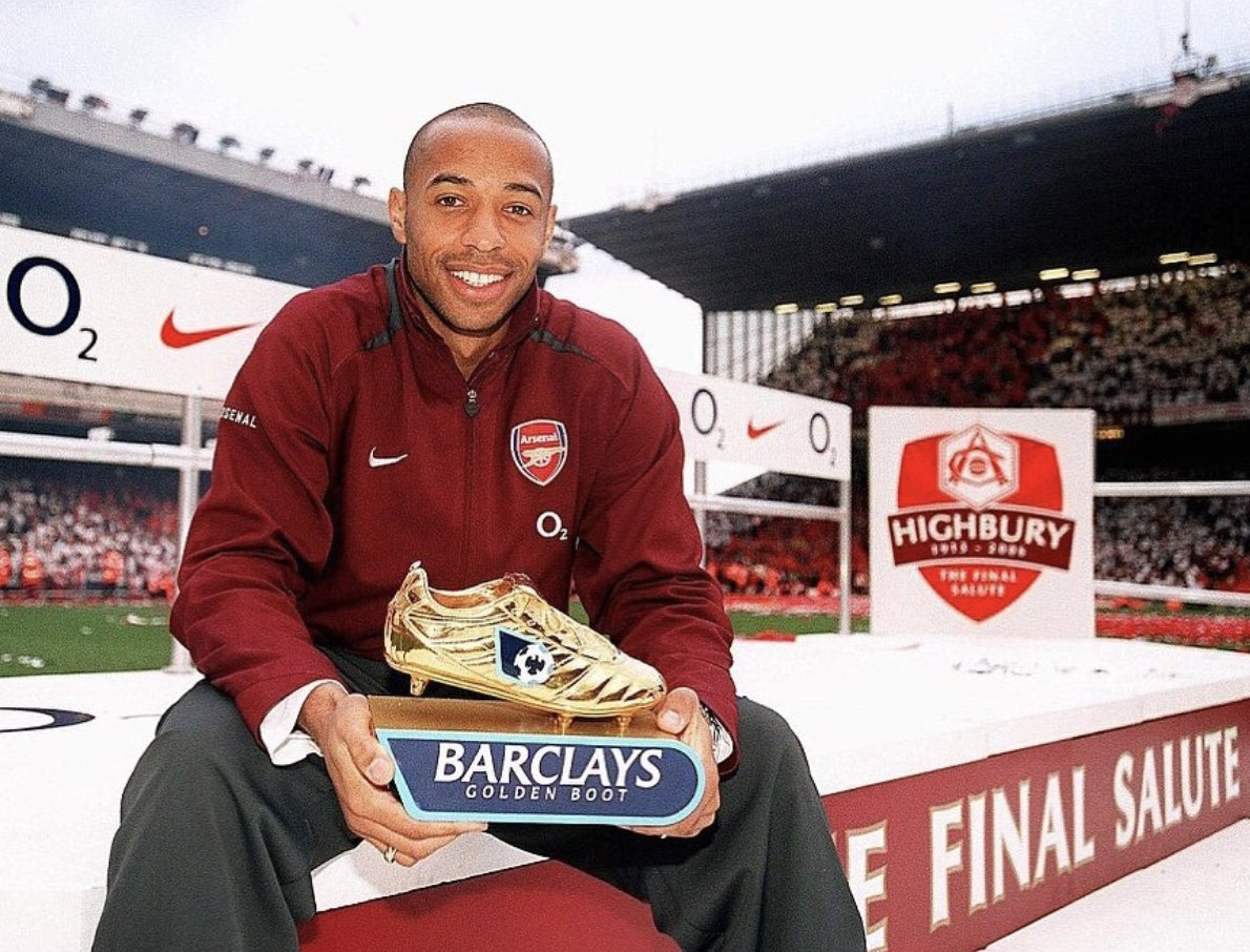 "🗣 Paul Merson: ""Thierry Henry would play for Arsenal like he was a 20-year-old playing in an u12 league, and I've never seen that before."" 🗣 Zinedine Zidane: Thierry Henry is probably technically the most gifted footballer ever to play the beautiful game"