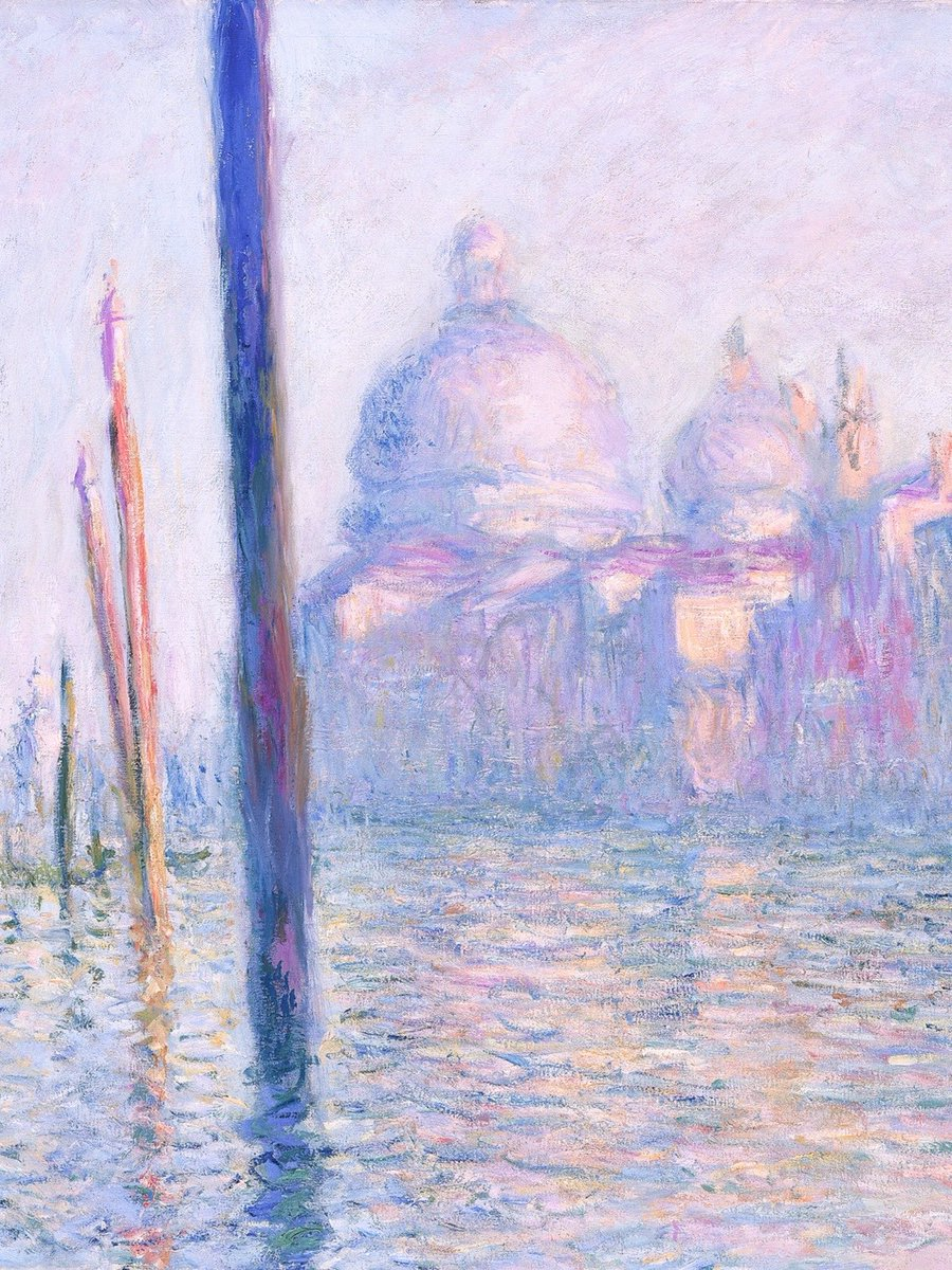 Monet + purple and lilac