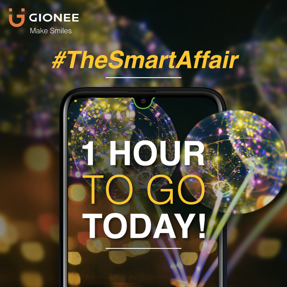 #TheSmartAffair #contest last hour! You can #win #GioneeF10 by following 3 simple steps: 1 Click this link: http://fkrt.it/pCjiv~uuuN 2 Share the page on Facebook or Twitter with #TheSmartAffair 3 In caption, tell us why you love Gionee F10 Read contest rules in our Facebook Notes