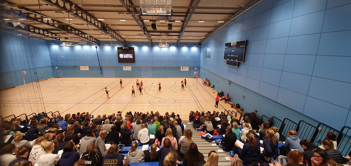 Incredible turnout at @ICE_kendal National Netball Conference - and great to see so many @GSAUK schools here too! https://t.co/vuyfGJI9HG
