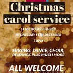 Image for the Tweet beginning: Our annual Christmas Carol Service