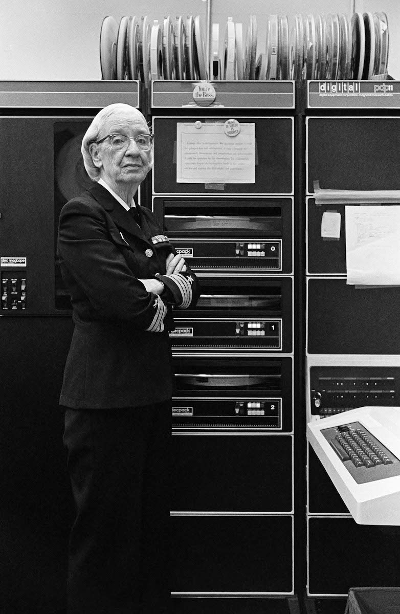 #OnThisDay 1906: Computer programmer and United States Navy rear admiral Grace Hopper was born. She was a pioneer of computer science and invented one of the first linkers. Her work led to the development of the programming language COBOL <br>http://pic.twitter.com/SJrKcZIzaR