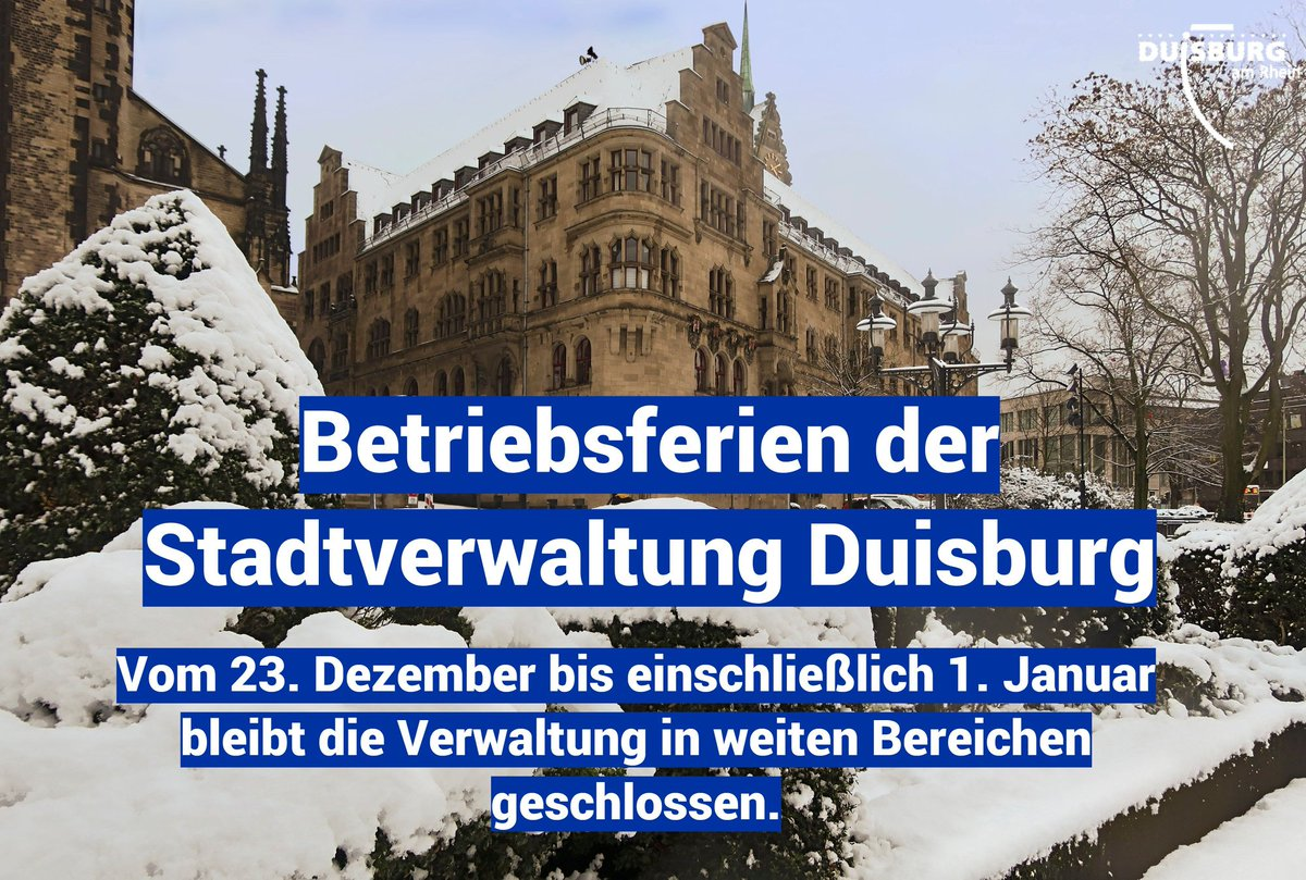 RT @duisburg_de: Mehr Informationen unter: https://t.co/C7S6aisRm3 #duisburg https://t.co/sizrUU19YQ