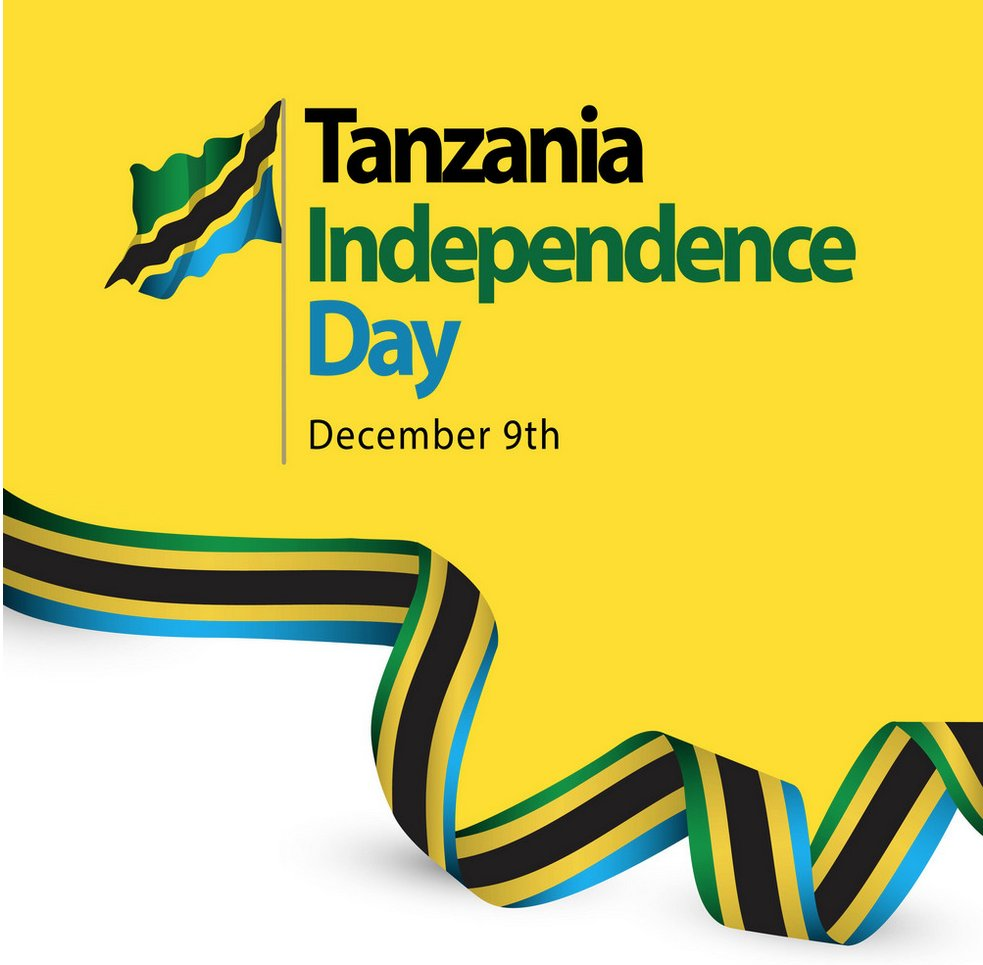 RT @jumuiya: Wishing our Brothers and Sisters in #Tanzania a very happy and blessed #IndependenceDay https://t.co/7hlFucR9Ig