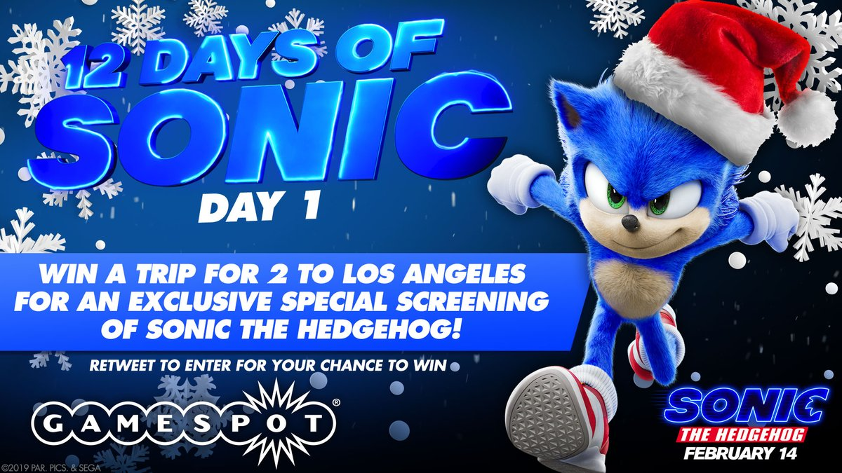 How To Win A Trip To See A Special Screening Of Sonic The Hedgehog* - GameSpot