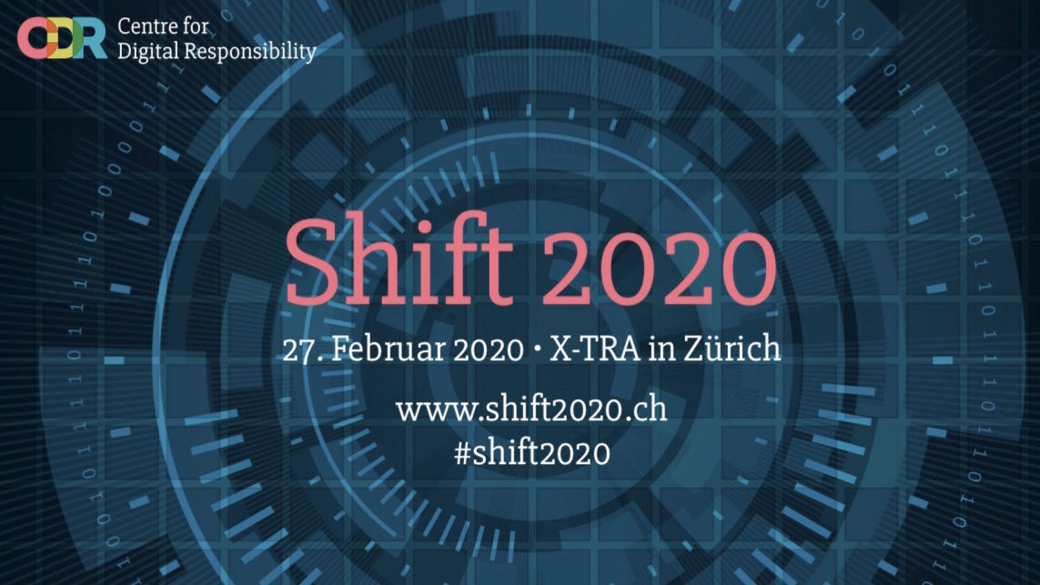 Wärmstens empfohlen: Die Tagung✖️Shift 2020✖️ Detailprogramm: https://t.co/aN8L2eWubm #shift2020 https://t.co/vc0XelK3b5
