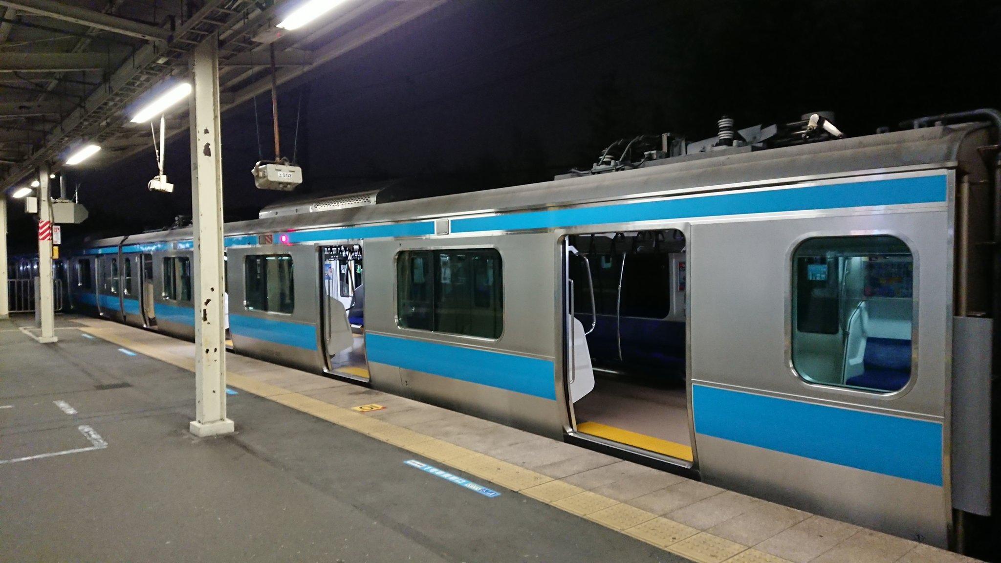 京浜東北根岸線の本郷台駅で人身事故の現場の画像