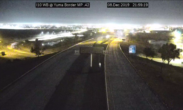 Image posted in Tweet made by Arizona DOT on December 9, 2019, 8:45 am UTC