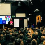 @SHSYear9 hearing from @alzheimerssoc about how the £3k+ raised in their @SHSEnterprise #make2019 challenge @SurbitonHigh could be used: 41 individuals accessing music therapy in SW London for a year; 54 dementia advisors; 265 crisis calls to the national dementia helpline #perma