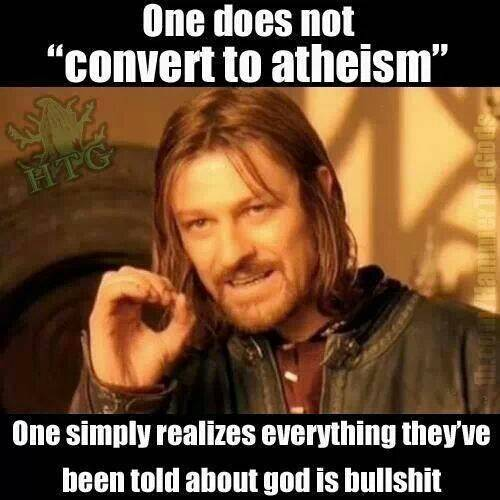 It's not a proper meme unless Sean Bean is in it...  · · · #atheist #atheism #science #goodwithoutgod #religion #logic #nogod #godless #atheisthumor #funny #memes #funnymemes #lol #meme #lmao #dankmemes #truth #truthbetold #love #quotes #truthoflife #truthseeker #life #facts