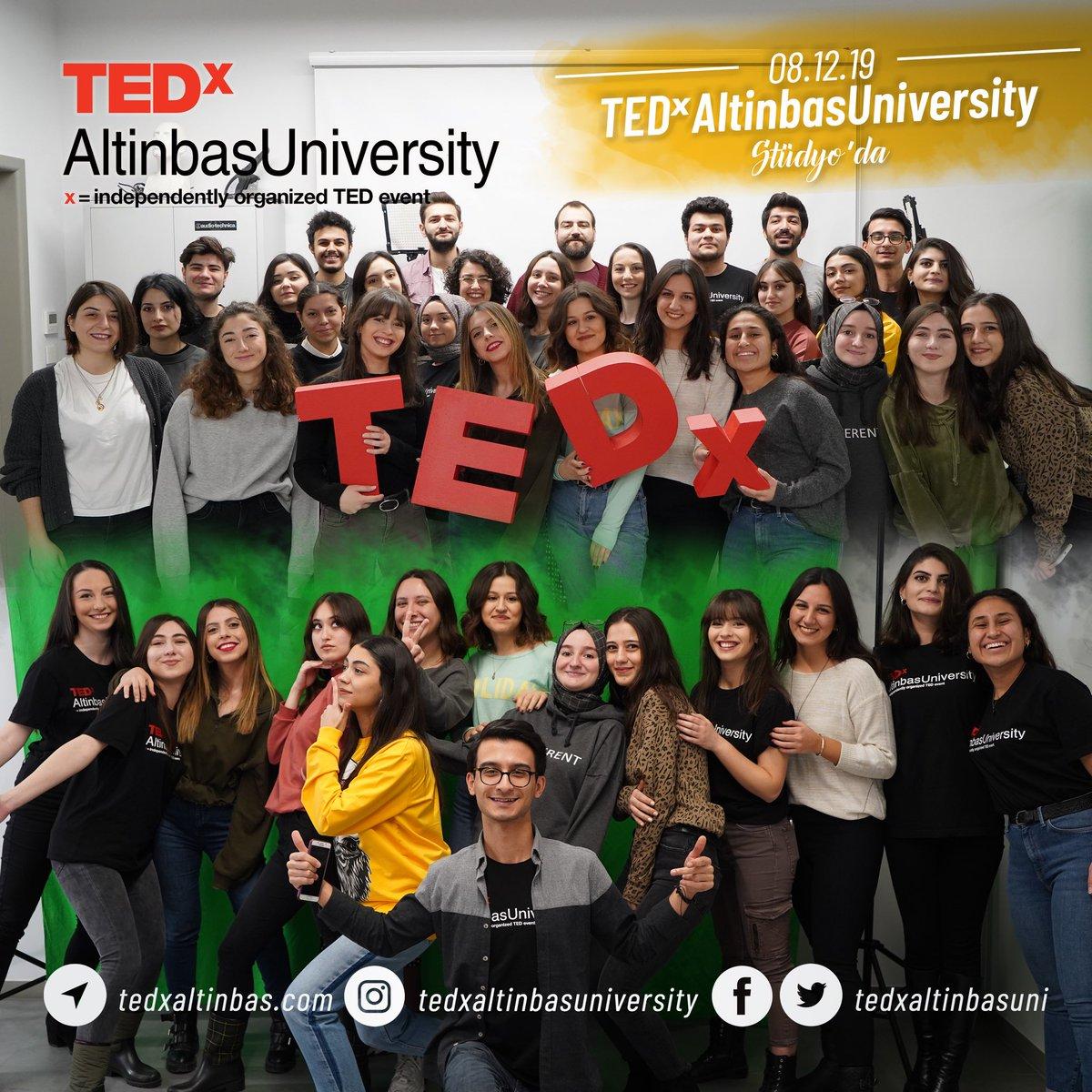 """TedxAltinbasUniversity ailesi olarak, dün hem fotoğraf çekimimizi hemde Perde Arkası etkinliğimiz için genel toplantımızı gerçekleştirdik. Geçen yıl gerçekleştirdiğimiz """"B Planı"""" temalı etkinliğimizde gerçekleşen birbirinden ilham veren konuşmalardan sonra, bu yılda"""
