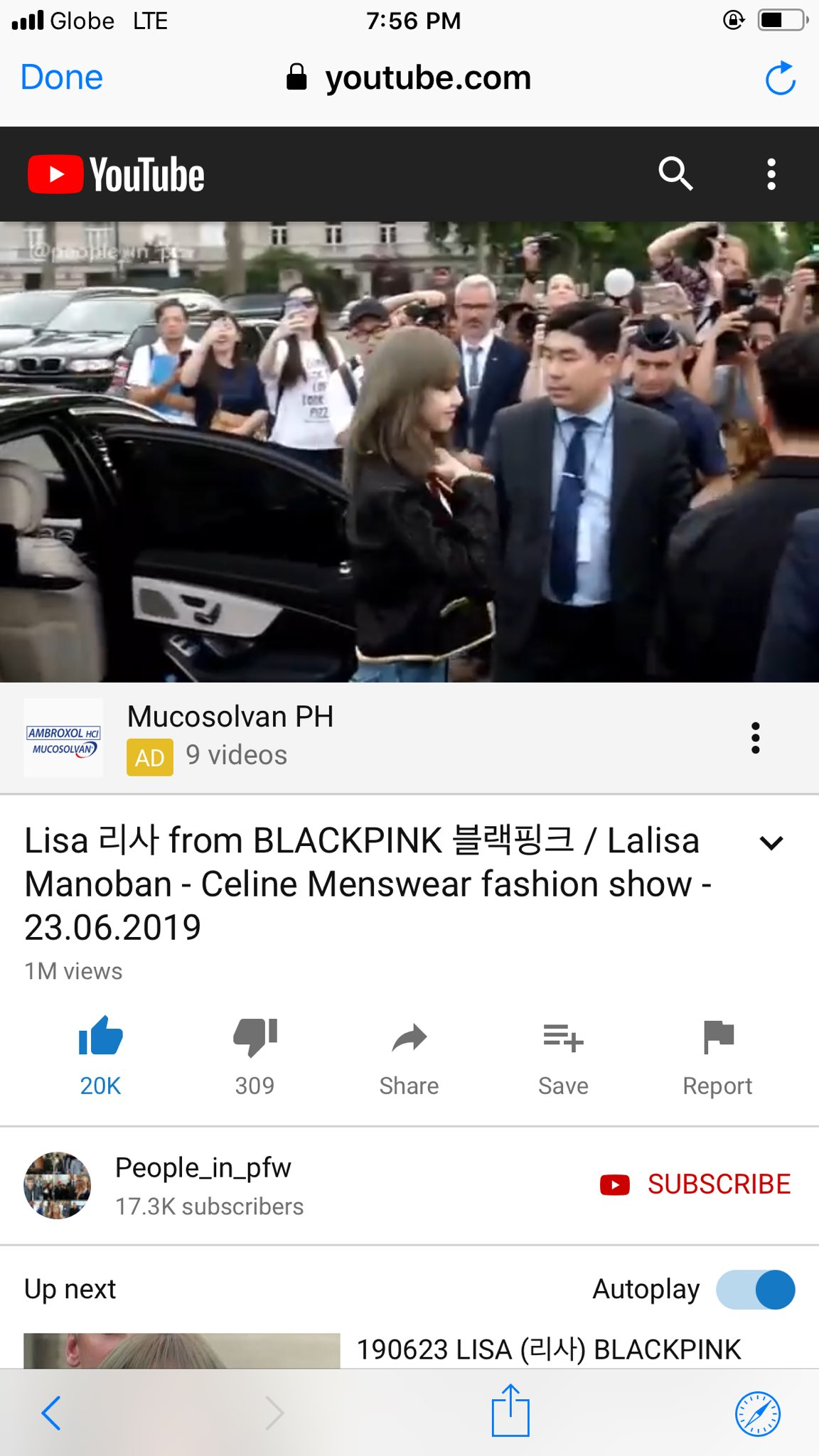 Lori On Twitter This Celine Menswear Fashion Show Video Of Lisa On Youtube Has Already Over 1m Views Lisa S Power Ygofficialblink Celineofficial Https T Co Eumyq7xfyp Lisaxceline Https T Co O6rjju5xbi