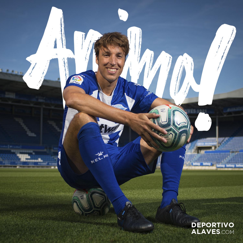 El mensaje de ánimo del Deportivo Alavés a Tomás Pina.