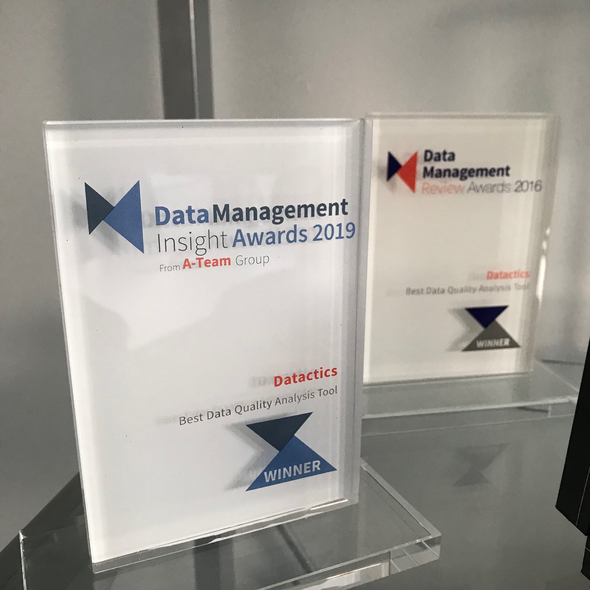 "Datactics on Twitter: ""🏅Best Data Quality Analysis Tool 🥇 With more votes  this year than any past editions, these are the most prestigious awards in  the #DataManagement industry and we are delighted"