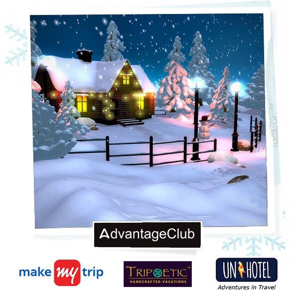 Cold Days : Warm Hearts Discover the beauty of winter as there is no time like snow time. Get exclusive travelling offers with Advantage Club. #advantageclub  #travelling #discover #cold #beauty #hearts #like #offers #get #exclusive #save #money #explore #winter #chills #snow