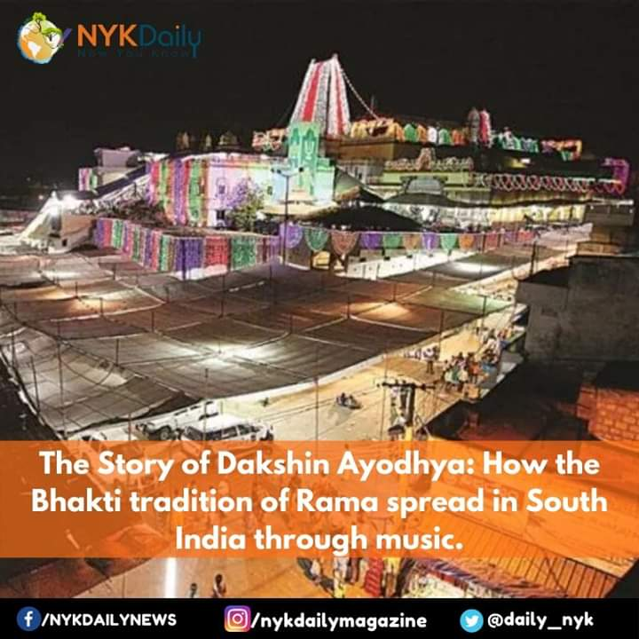 #Bhadrachalam or #Badradri is called #Ayodhya of South: https://bit.ly/2qErra8It is in Khammam Dist of #Telangana about 350 Kms from Hyderabad on the bank of River #GODAVARI. It has the most famous Ram Temple in South India where Sri Ram is in the form of Vaikunta