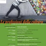 Image for the Tweet beginning: 〰 Le professioni della cultura