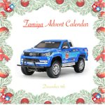 Advent calendar day 9 @ToyotaUK @ToyotaPR #Christmas2019 #tamiya #advent #hilux