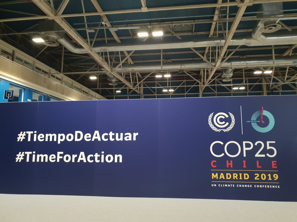 The final week of #COP25 has kicked off! #TimeForAction 💪for the #SDGs & #ClimateAction🌿🌎! Join us at the @UNFCCC Pavilion Hall 8 & explore #MYWorld360 & join the #SDGbutterflyEffect 🦋 #Act4SDGs #TiempoDeActuar #GlobalGoals