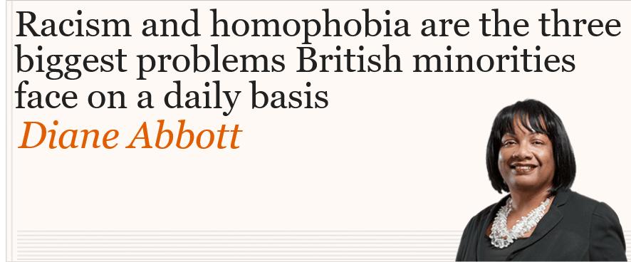 Racism & Homophobia @HackneyAbbott #GeneralElection2019 #TrollingTheGuardian