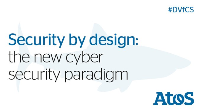 #SecurityByDesign is based on 4 elements: the threat landscape, people, scalability...