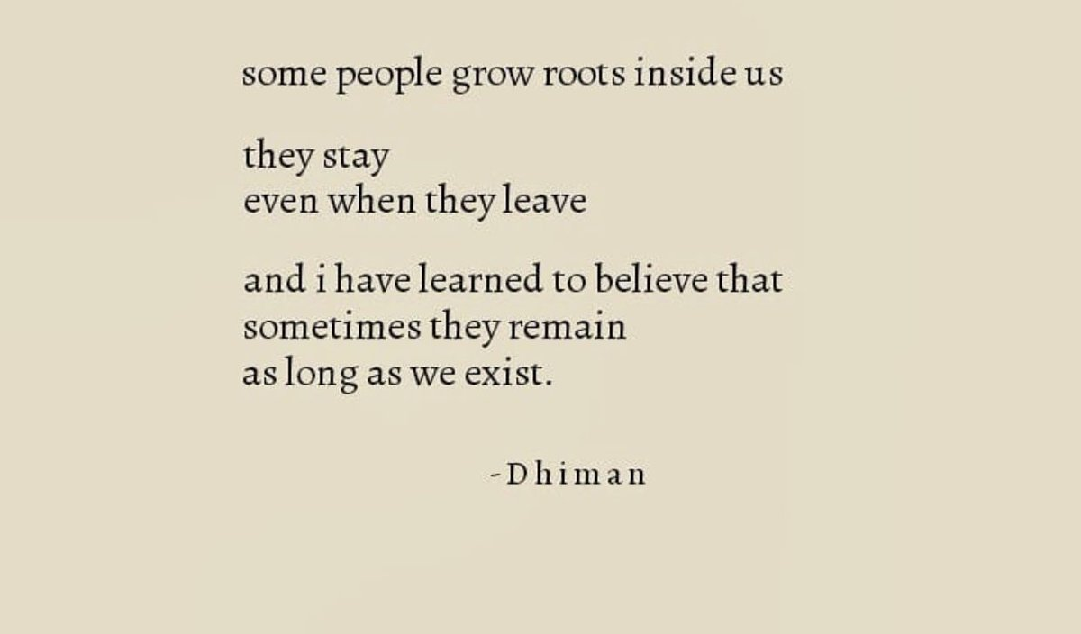 they stay even when they leave