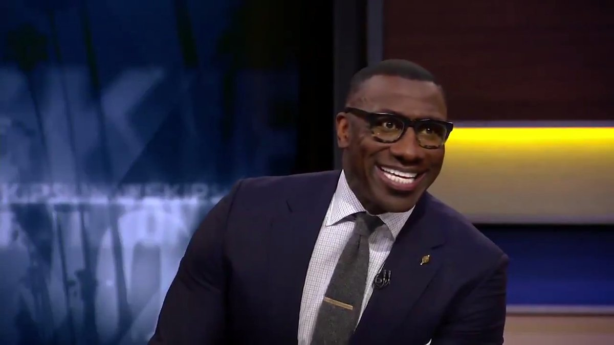 """Anthony Davis is making a strong case [for MVP and Defensive Player of the Year], he's just been doing it all. He's a legitimate 30 point, 10 rebound guy and don't be surprised if he's around that."" — @ShannonSharpe"