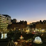 Image for the Tweet beginning: Sheffield City Centre Peace Gardens
