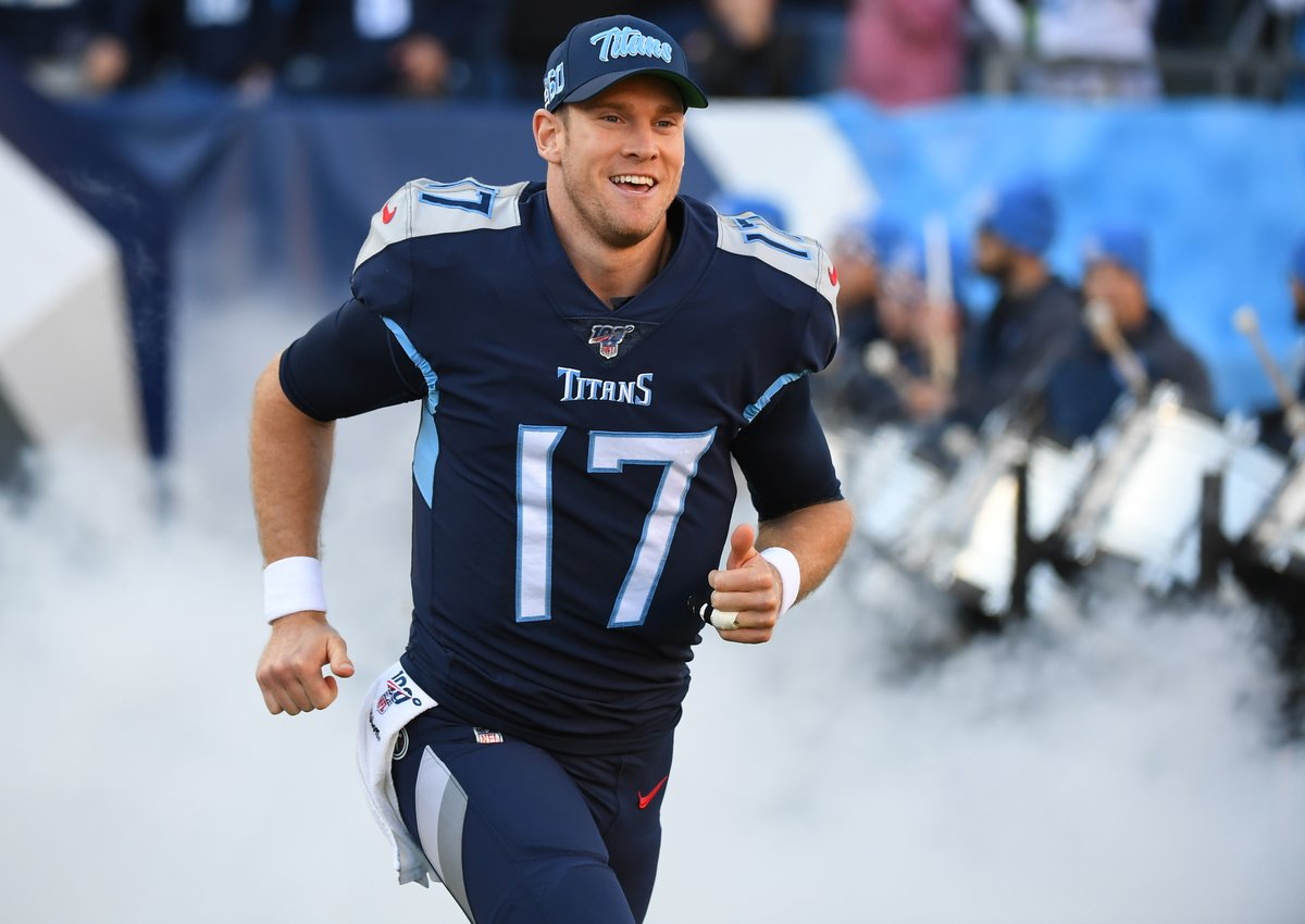 Since becoming the Titans starting QB in Week 7, Ryan Tannehill has:  • Better QB Rating than Drew Brees • More Yards than Aaron Rodgers • More TD than Tom Brady • Fewer INT than Russell Wilson • Better CMP % than Lamar Jackson