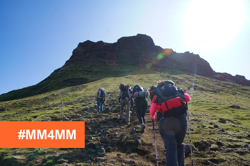 Last month, one of our fellow Iceland trekkers lost his battle with multiple #myeloma. He's one of the reasons why we're continuing to work with groups like @MovingMtns4MM to raise research funds, awareness & hope for myeloma patients. Learn more: https://t.co/Uokf3efYlk #MM4MM https://t.co/dp1CDqtUZt