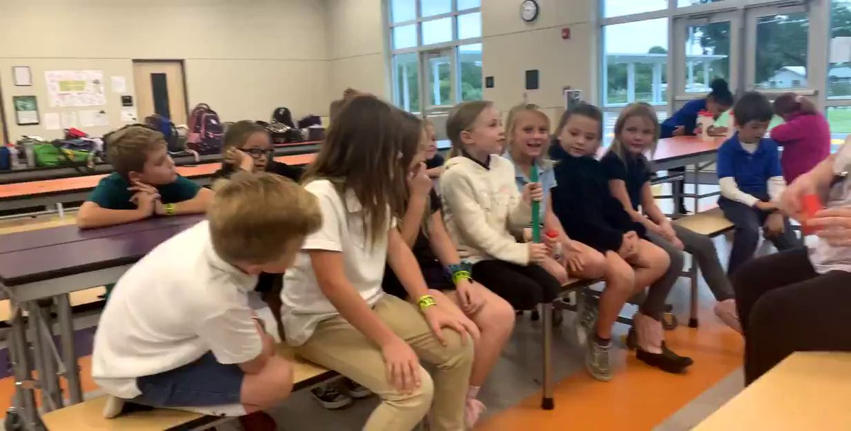 How awesome is this class?! They are sharing what they want to be when they grow up.