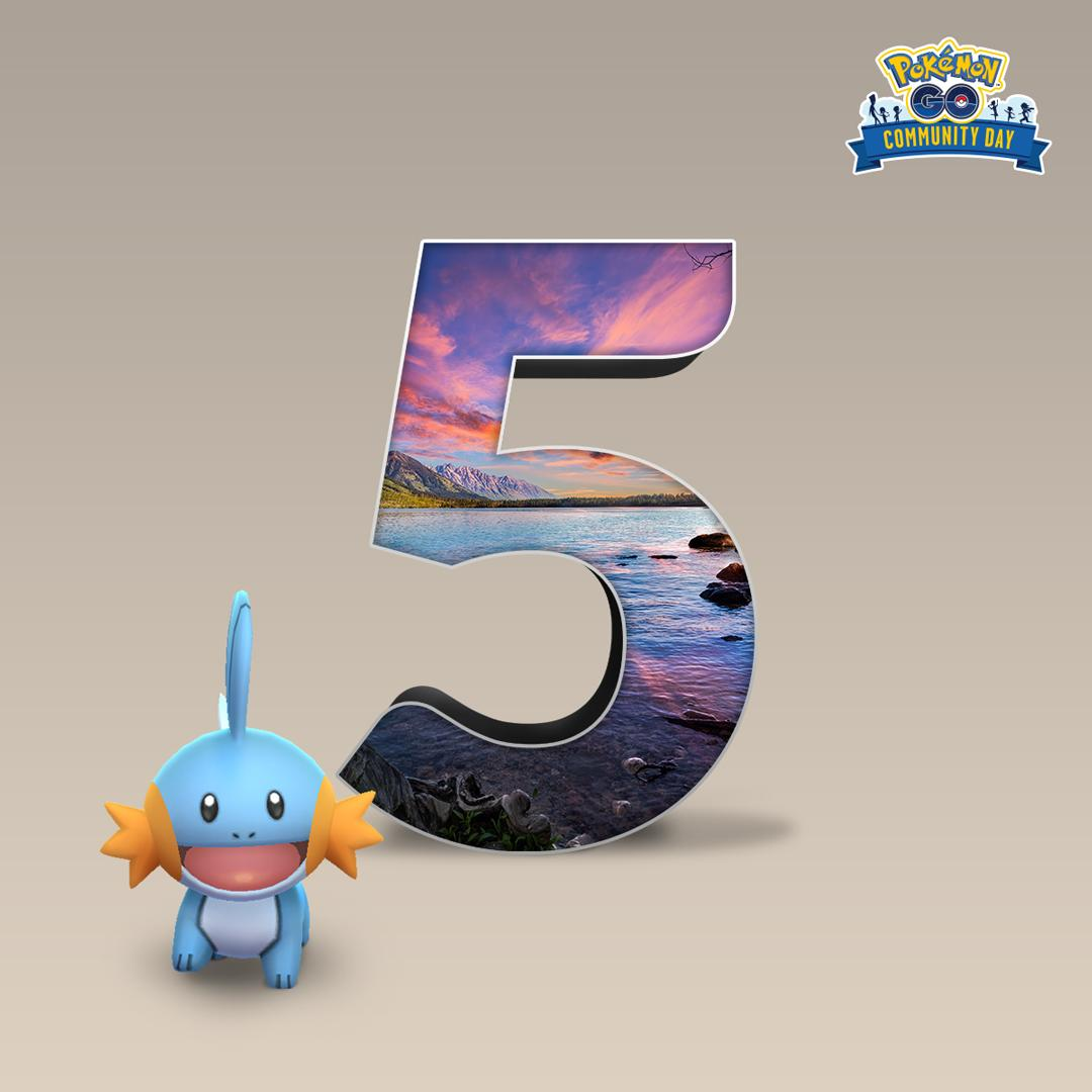 Love Mudkip as much as we do? Good news! Mudkip will be coming back with a splash for the December #PokemonGOCommunityDay!<br>http://pic.twitter.com/5cdiD72fSV
