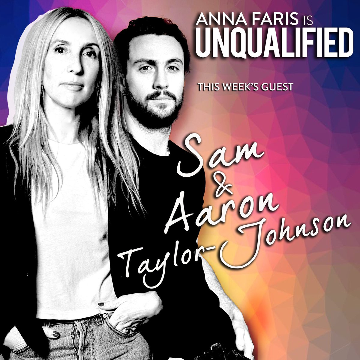 #SamTaylorJohnson and #AaronTaylorJohnson are on this week's episode of @Unqualified! apple.co/2E31bsR